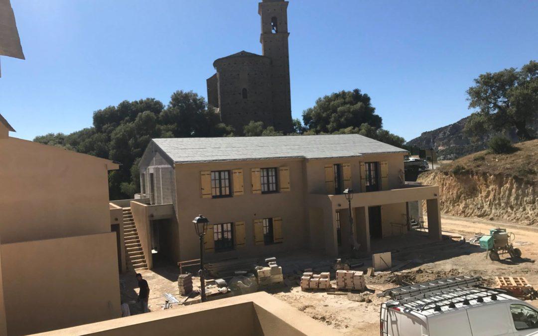 """La résidence """"Serena"""" à Patrimonio ! On y est presque !"""
